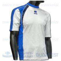 ERREA SHARM SHIRT futball mez - fehér-azúrkék-sötétkék