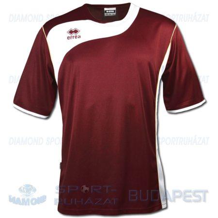 ERREA TONIC SHIRT futball mez - bordó-fehér [XL]