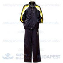 ERREA SCRIPT KIT cipzáras szabadidő melegítő felső + nadrág KIT - sötétkék-fehér-sárga