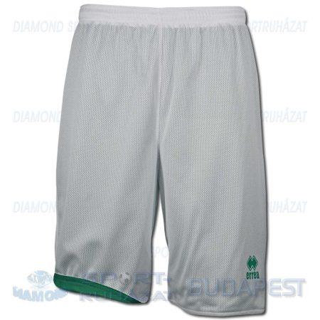 ERREA NEW TUCSON DOUBLE SHORT kifordíthatós kosárlabda nadrág - fehér-zöld [M]