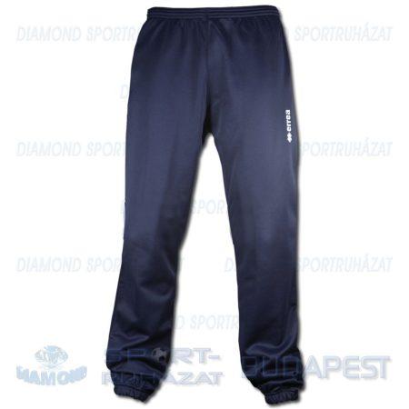 ERREA BASIC TROUSERS JUNIOR edző- és szabadidő melegítő nadrág - sötétkék [40]