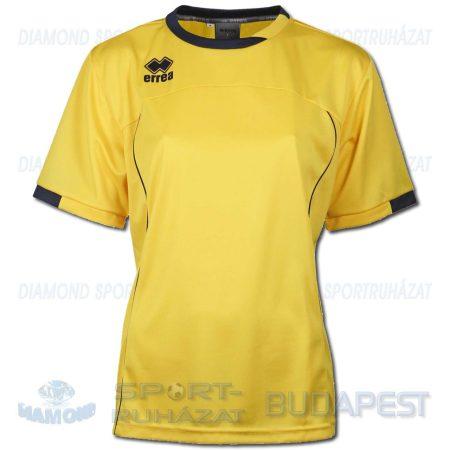 ERREA LENA WOMAN SENIOR női futball mez - sárga-sötétkék [L]