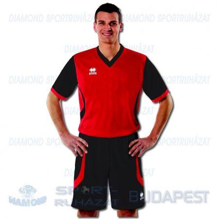 ERREA LAND KIT futball mez + nadrág KIT - piros-fekete [XS]