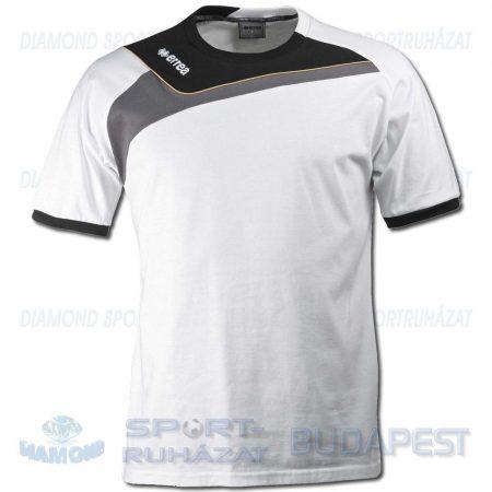 ERREA ITACA pamut póló (rövid ujjú) - fehér-fekete-antracit
