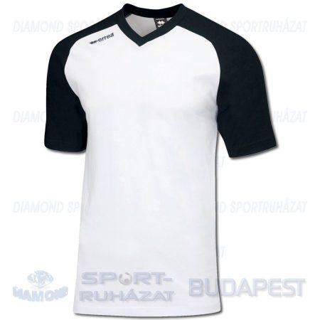 ERREA UNION pamut póló (rövid ujjú) - fehér-fekete [2XS]