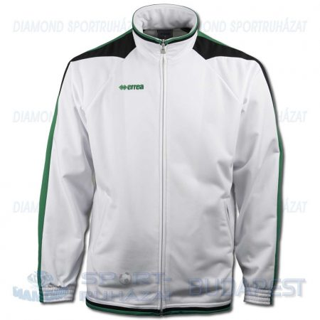 ERREA KANSAS cipzáras szabadidő melegítő felső - fehér-zöld-fekete [M]
