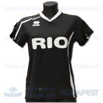 ERREA RIO WOMAN DECO női dekorfeliratos mez - fekete-fehér
