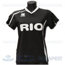 ERREA RIO DECO női dekorfeliratos mez - fekete-fehér