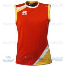 ERREA PRIMULA női röplabda mez - piros-sárga-fehér