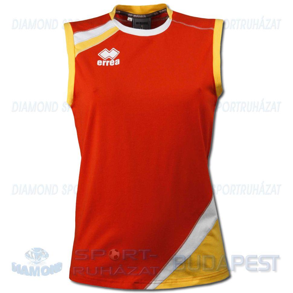 ERREA PRIMULA női röplabda mez - piros-sárga-fehér - Sportbirodalom 3c5a7f64d5