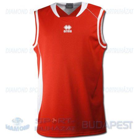 ERREA DUNK SENIOR kosárlabda mez - piros-fehér-világosszürke [M]