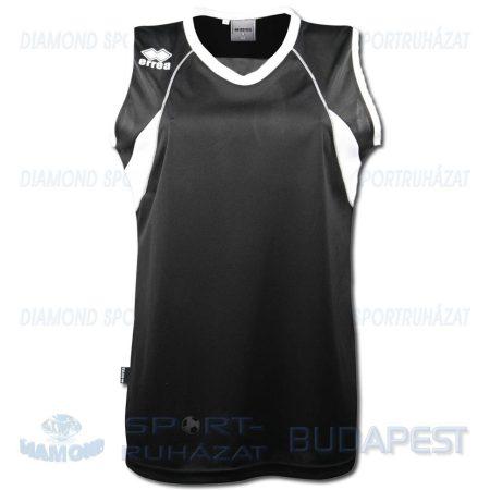 ERREA JOYCE WOMAN SHIRT női kosárlabda mez - fekete-fehér