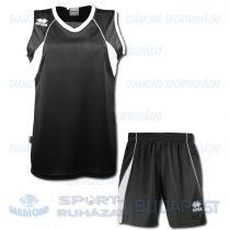 ERREA JOYCE KIT női kosárlabda mez + nadrág KIT - fekete-fehér