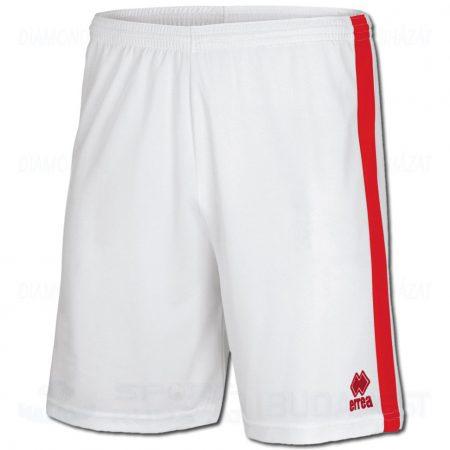 ERREA BOLTON SHORT sportnadrág - fehér-piros