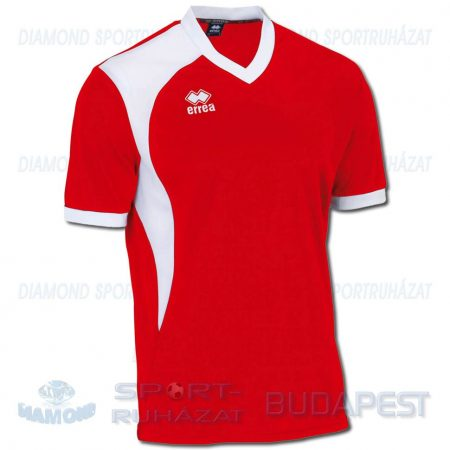 ERREA NEATH SHIRT futball mez - piros-fehér