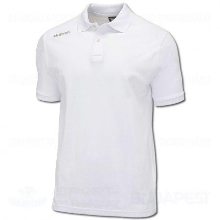 ERREA TEAM COLOURS 2012 pamut póló (rövid ujjú galléros) - fehér