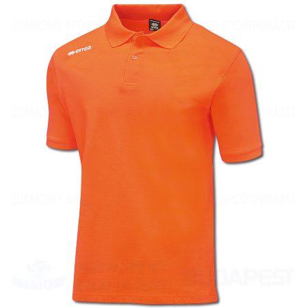 ERREA TEAM COLOURS 2012 pamut póló (rövid ujjú galléros) - narancssárga