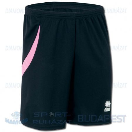 ERREA NEATH SHORT sportnadrág - fekete-rózsaszín [2XS]
