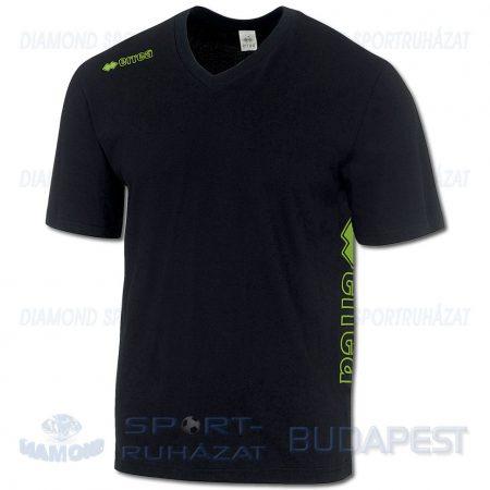 ERREA PROFESSIONAL 12 pamut póló (rövid ujjú) - fekete