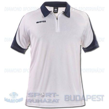 ERREA HAMILTON póló (rövid ujjú galléros) - fehér-sötétkék