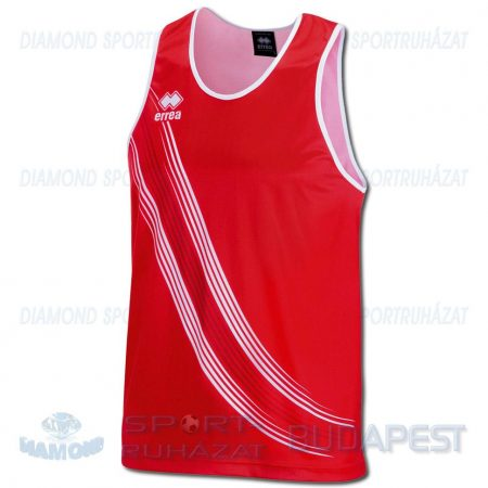 ERREA LEVANTE SENIOR férfi atléta mez (ujjatlan) - piros-fehér [L]