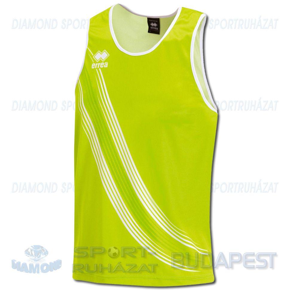 ERREA LEVANTE férfi atléta mez (ujjatlan) - UV zöld-fehér ... a7aab444b9