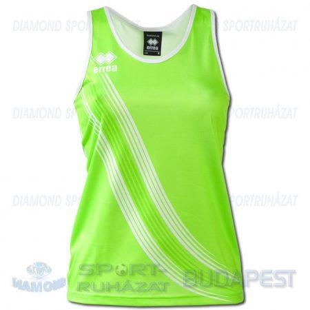 ERREA LEVANTE LADIES SENIOR női atléta mez (ujjatlan) - UV zöld-fehér [M]