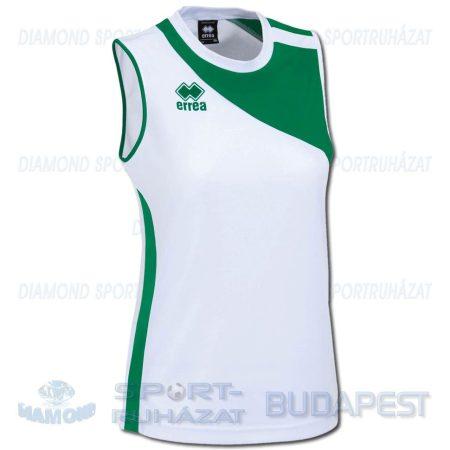 ERREA AMAZON WOMAN CANOTTA női röp- és kosárlabda mez - fehér-zöld [M]