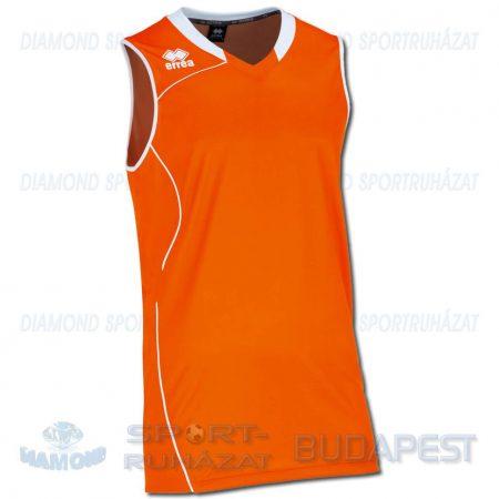 ERREA DALLAS CANOTTA SENIOR kosárlabda mez - narancssárga-fehér [L]