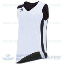 ERREA SEATTLE DOUBLE SINGLET kifordíthatós kosárlabda mez - fehér-fekete