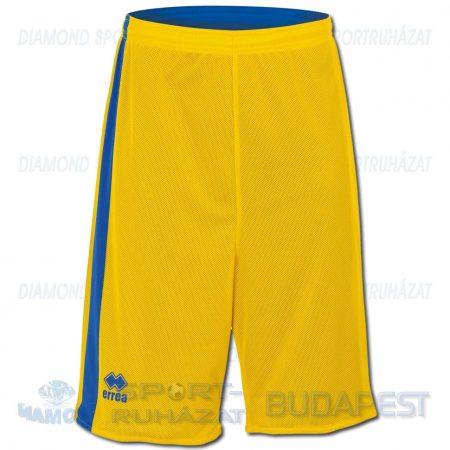 ERREA SEATTLE DOUBLE SHORT SENIOR kifordíthatós kosárlabda nadrág - sárga-azúrkék [L]