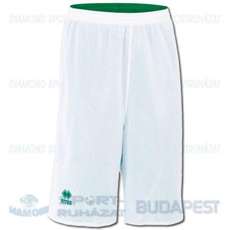 ERREA UTAH DOUBLE SHORT kifordíthatós kosárlabda nadrág - fehér-zöld
