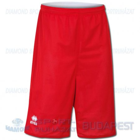 ERREA UTAH DOUBLE SHORT kifordíthatós kosárlabda nadrág - piros-fehér [L]
