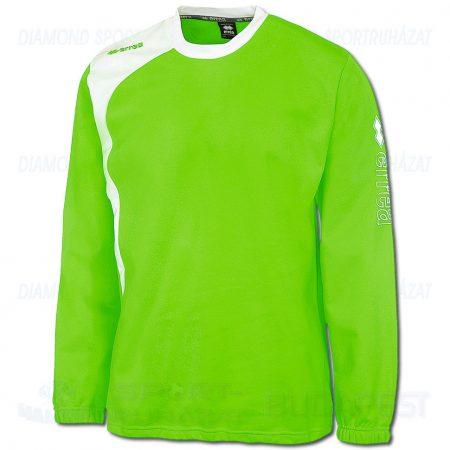 ERREA TRAFFORD belebújós edző- és szabadidő melegítő felső - UV zöld-fehér