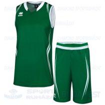 ERREA ILLINOIS KIT kosárlabda mez + nadrág KIT - zöld-fehér