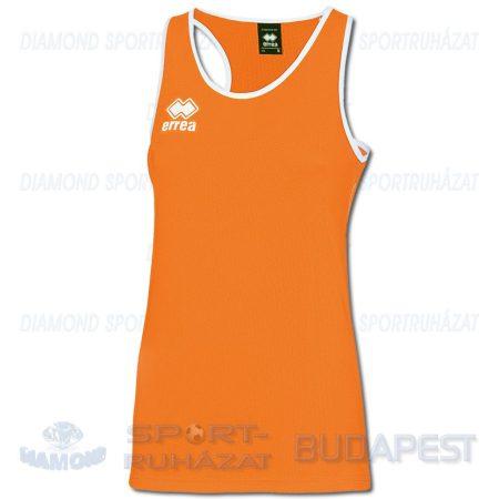 ERREA BOLT WOMAN női atléta mez (ujjatlan) - UV narancssárga-fehér