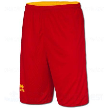 ERREA CHICAGO DOUBLE SHORT kifordíthatós kosárlabda nadrág - piros-sárga