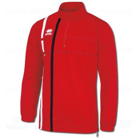 ERREA MAXIM cipzáras nyakú edző- és szabadidő melegítő felső - piros-fehér-fekete