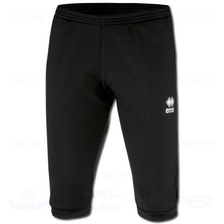 ERREA PENCK edző melegítő nadrág (háromnegyedes) - fekete