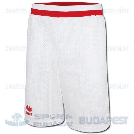 ERREA MEMPHIS SHORT SENIOR kosárlabda nadrág - fehér-piros [XL]