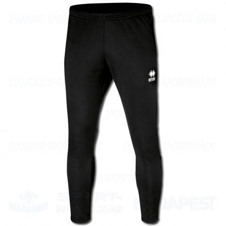 ERREA KEY edző- és szabadidő melegítő nadrág - fekete
