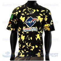 ERREA ESAG ANGERS REP férfi rugby replika mez - fekete-arany