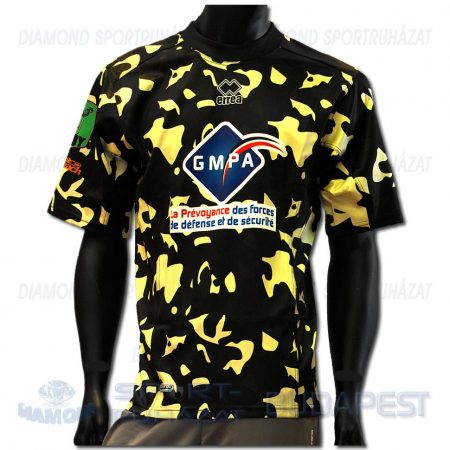 ERREA ESAG ANGERS REP SENIOR férfi rugby replika mez - fekete-arany [L]