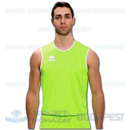 ERREA ATHLOS SENIOR férfi fitness póló (ujjatlan) - UV zöld [M]