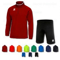 ERREA MANSEL 3.0 & CORE SET cipzáras nyakú edző- és szabadidő melegítő felső + nadrág SZETT - KOLLEKCIÓ