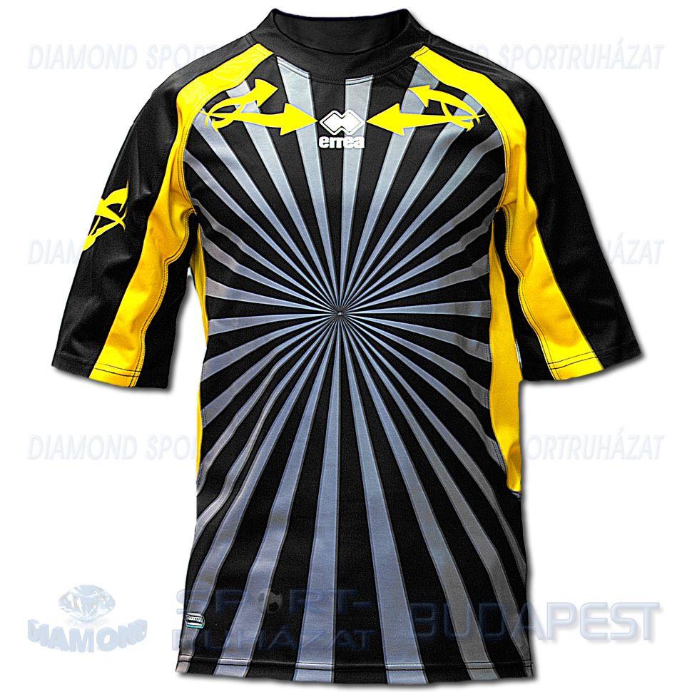 ERREA FULLBACK férfi rögbi mez - fekete-sárga - Sportbirodalom 9cd43e31d3