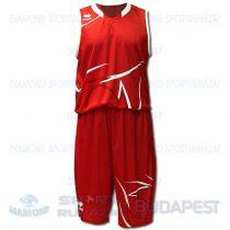 ERREA ORLANDO KIT férfi kosárlabda mez + nadrág KIT - piros-fehér