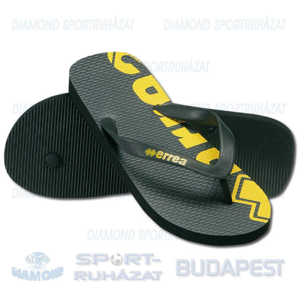 ERREA SEA papucs - fekete-sárga - Sportbirodalom 8c2d423796