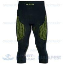 ERREA FOEHN elasztikus aláöltöző nadrág (háromnegyedes) - fekete-UV sárga
