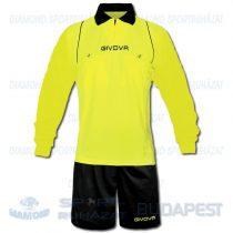 GIVOVA ARBITRO ML KIT játékvezetői mez + nadrág KIT - UV sárga-fekete